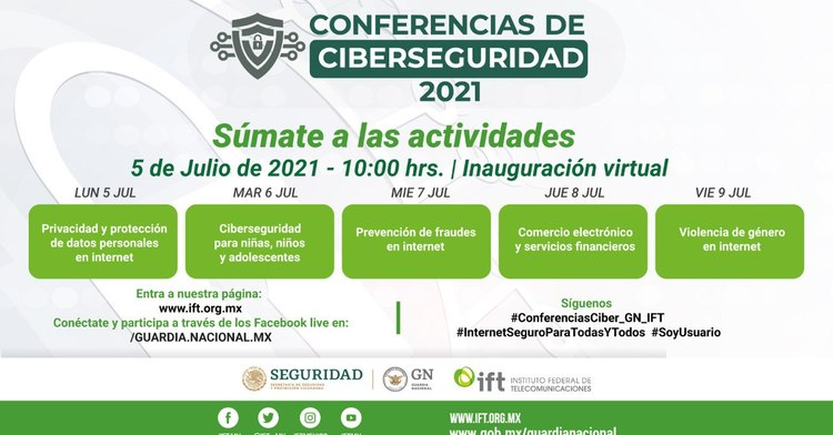 Conferencias de Ciberseguridad 2021