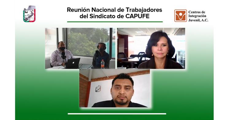 Participación de CIJ en la Reunión Nacional de Trabajadores de CAPUFE