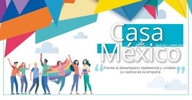 "Revista ""Casa de México"" - Junio 2021"