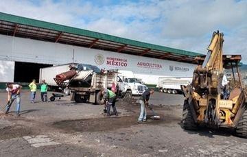 Remodela Segalmex almacenes rurales de Diconsa Michoacán