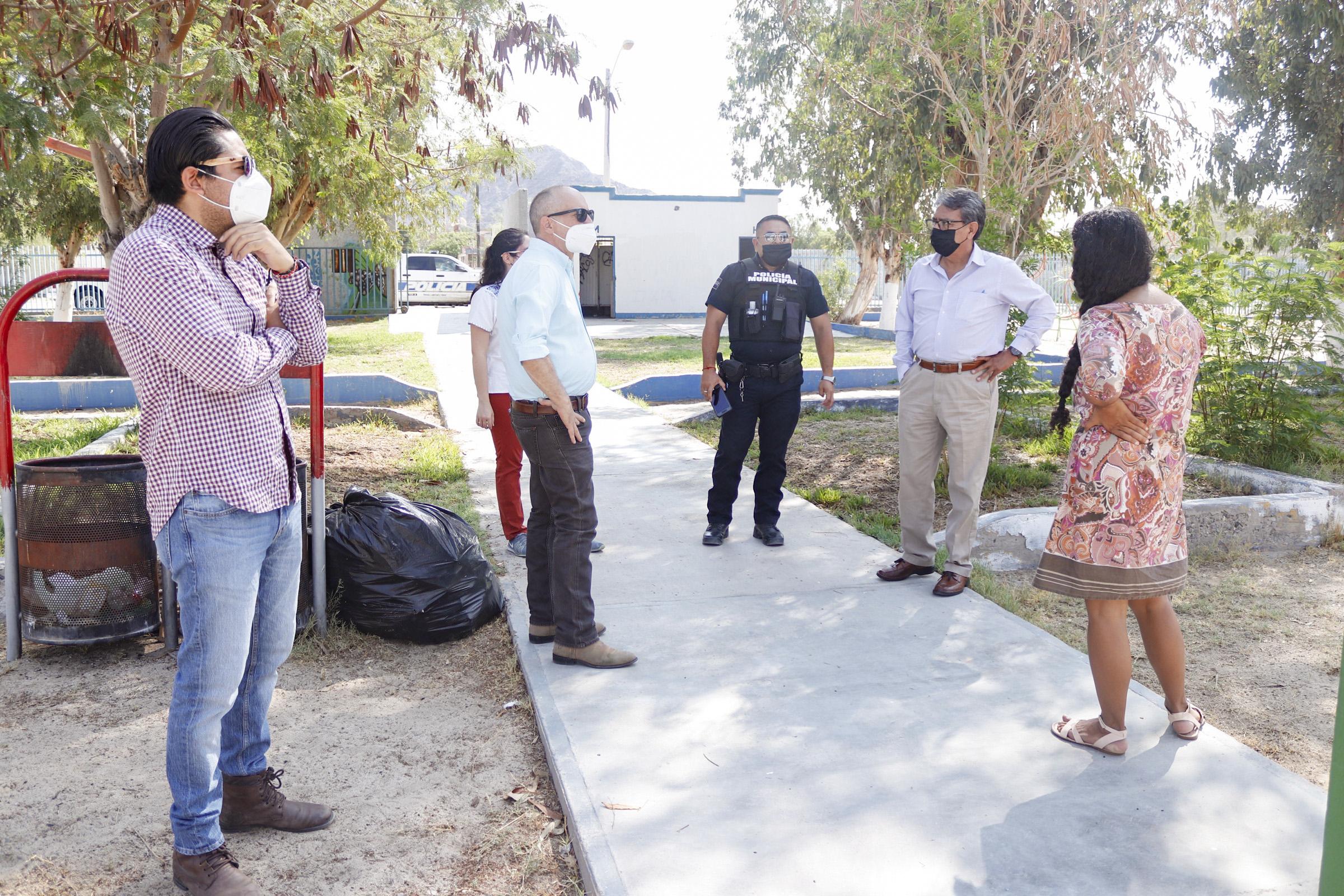 ENPA e Imjuve inician mesas de trabajo para intervenciones en San Felipe, Baja California