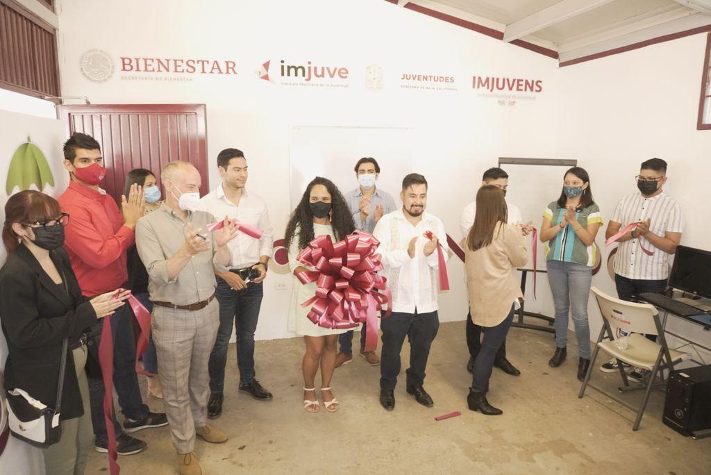 Imjuve inaugura el Centro Territorio Joven - Club por la Paz de Ensenada, Baja California