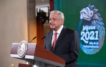 Conferencia de prensa del presidente Andrés Manuel López Obrador del 20 de julio de 2021
