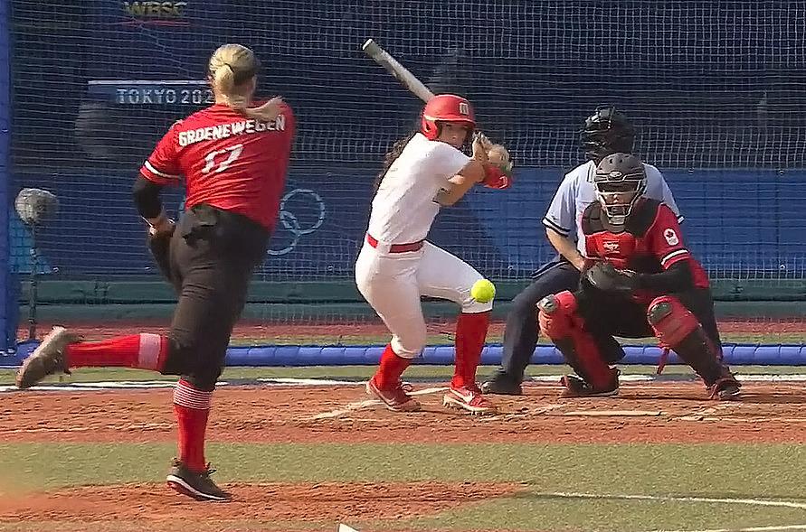 Debut de la selección mexicana de softbol femenil en Tokio 2020 ante Canadá. Especial