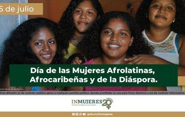 25 de julio día mujeres afrodescendientes. afromexicanas