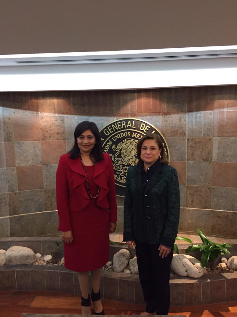 Encuentro entre la Procuradora General de la República y la Procuradora General de Justicia del Estado de Zacatecas