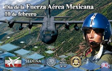 Mujer piloto de la Fuerza Aérea Mexicana.