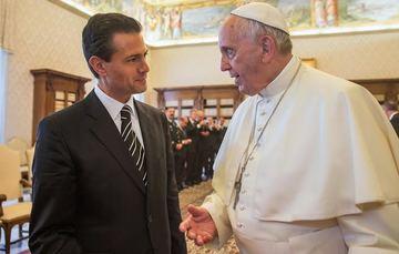Su Santidad, el Papa Francisco, de visita en México