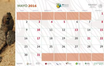 Efemerides ambientales y decretos de ANP de mayo