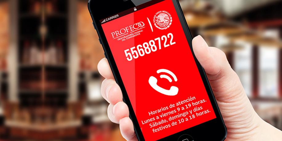 El Teléfono del Consumidor (Telcon) está al servicio de las y los consumidores desde el 5 de febrero de 1980