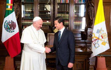 Bienvenida a Su Santidad Francisco, Mensaje del Presidente Enrique Peña Nieto
