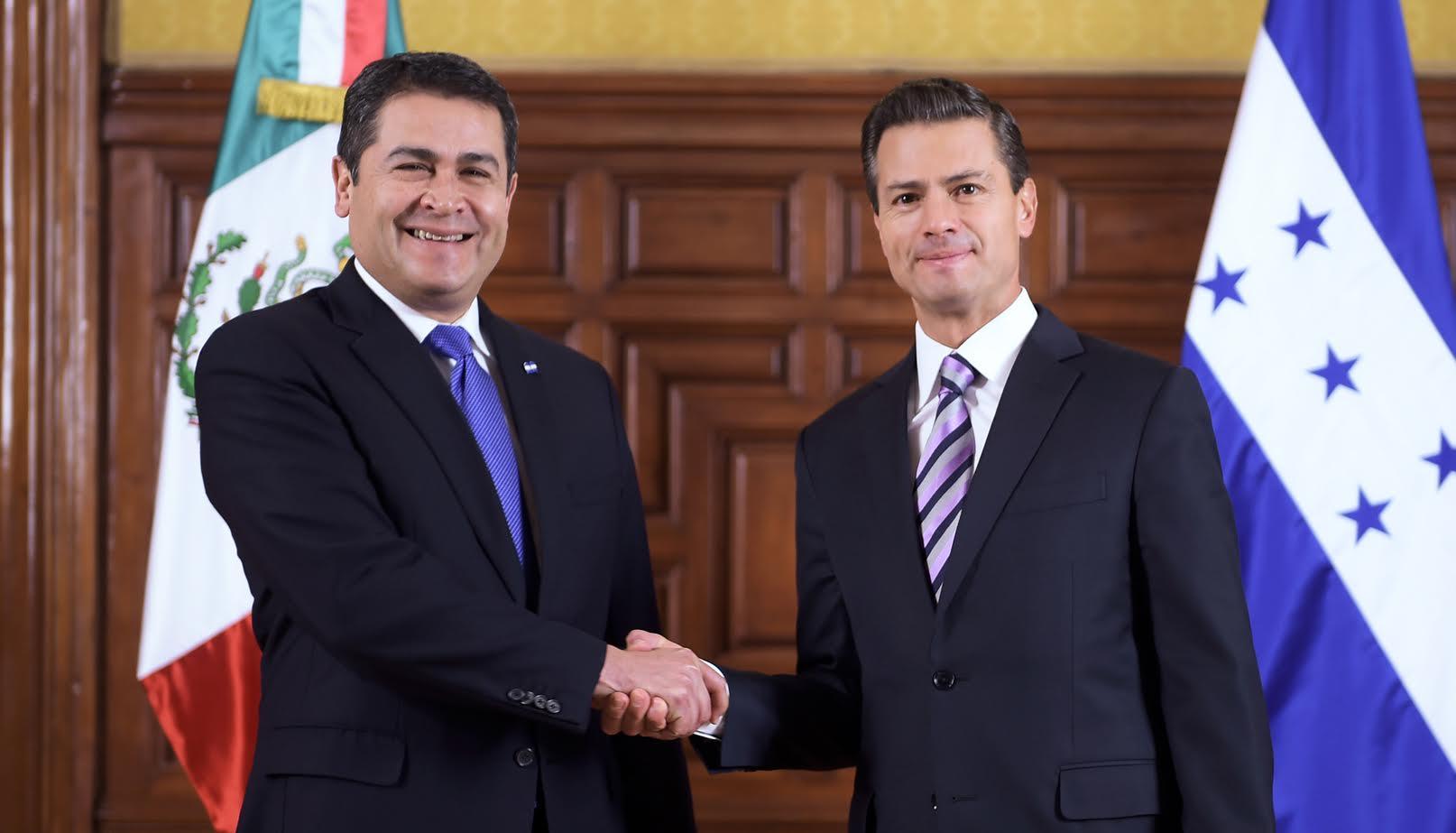 Visita Oficial Del Presidente De Honduras Juan Orlando Hernández