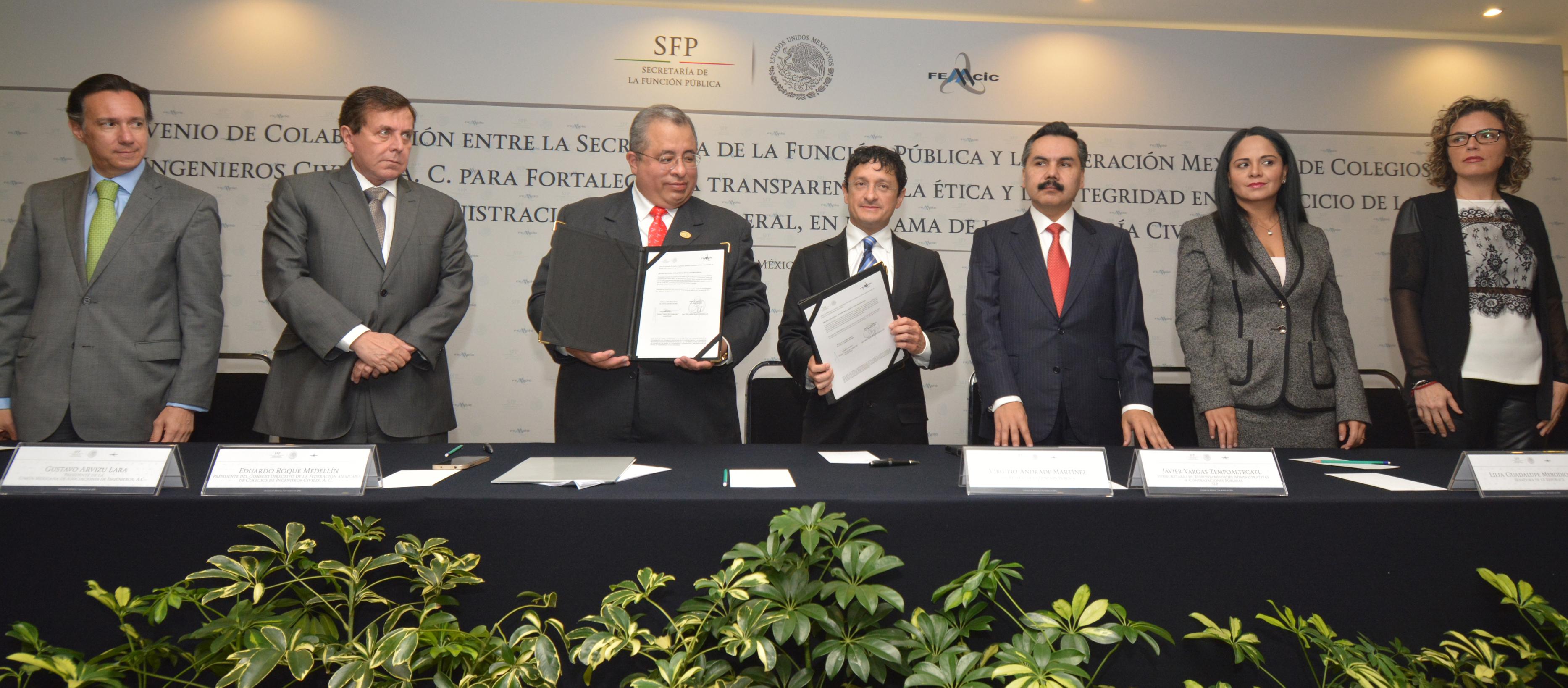 SFP continúa impulsando la Reforma al Régimen de Contrataciones Abiertas