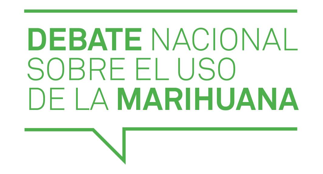 Logotipo del Debate Marihuana