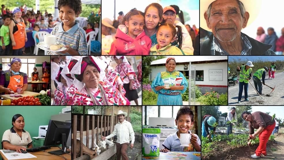 Beneficiarios de los programas sociales de Sedesol