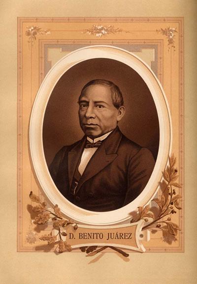Imagen de Don Benito Pablo Juárez García.