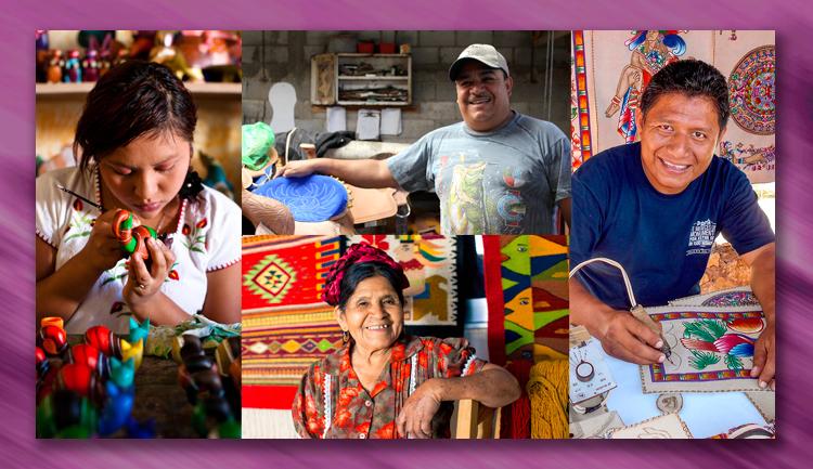 Apoyo a los proyectos productivos de los artesanos
