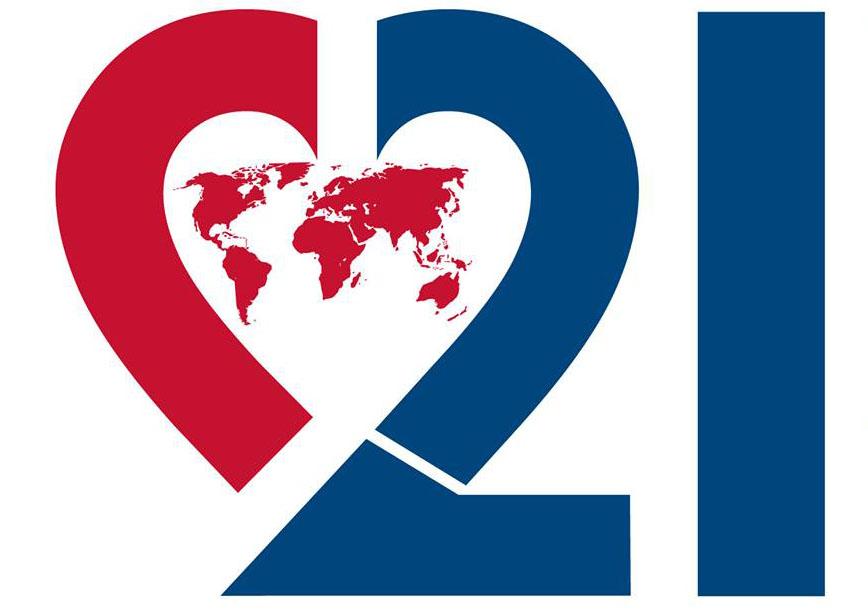 Imaginativo del Día Mundial del Síndrome de Down