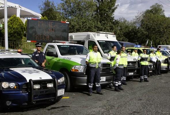 Policía Federal en carreteras CAPUFE