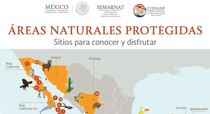 Mapa conoce las 36 reas naturales protegidas que puedes - Ambientadores naturales para la casa ...