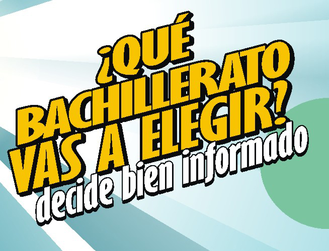 Cartel de la campaña Bachilleratos SEP