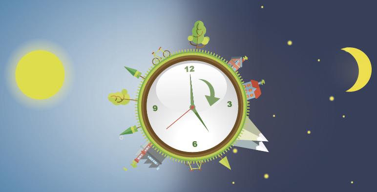 El próximo domingo 3 de abril inicia el Horario de Verano.