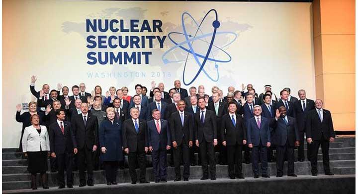 2016 Nuclear Security Summit in Washington, D.C.