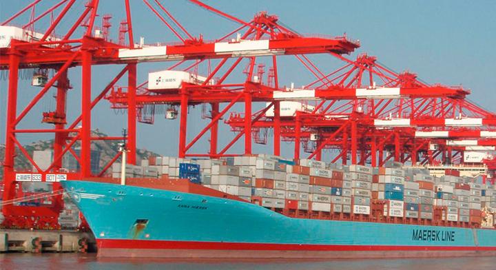 Barco de exportación