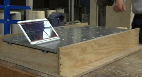 Mesa vibradora diseñada por el Centro Nacional de Prevención de ...