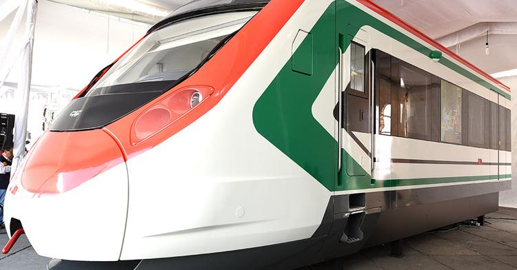 Maqueta tren interurbano México-Toluca