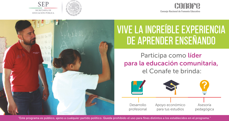 Campaña de Captación como líder para la educación comunitaria 2018-2019. .