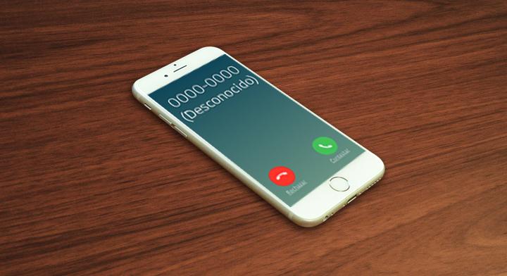 Imagen de un teléfono celular.