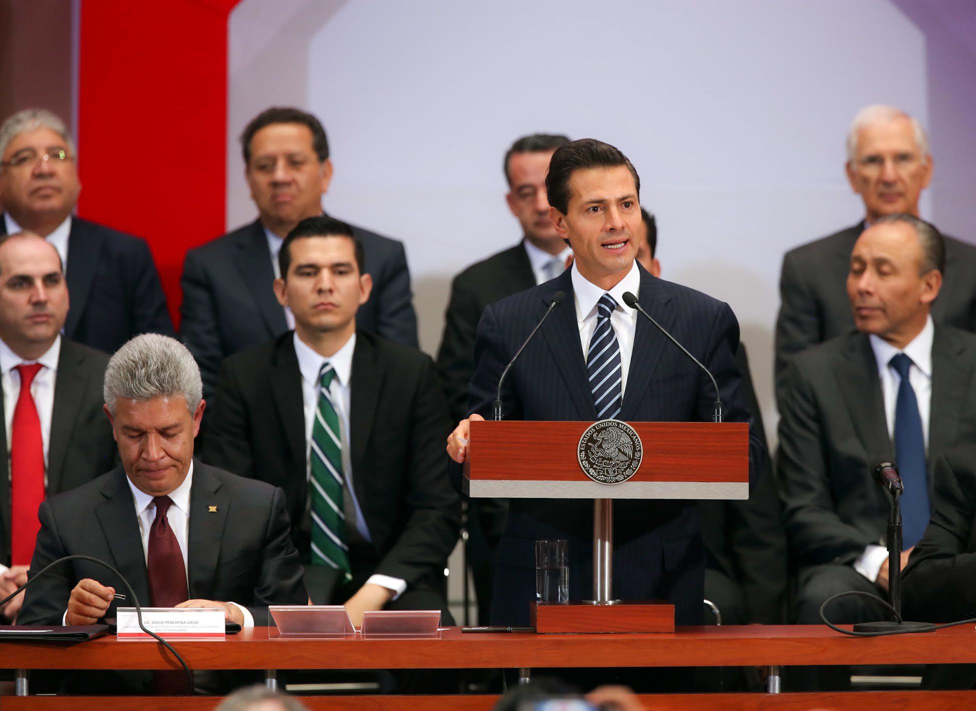 Con la promulgación de la Reforma a la Ley del INFONAVIT, se crea el marco legal para adecuar la operación financiera del Instituto a la Reforma Constitucional que permite la desindexación del salario mínimo.