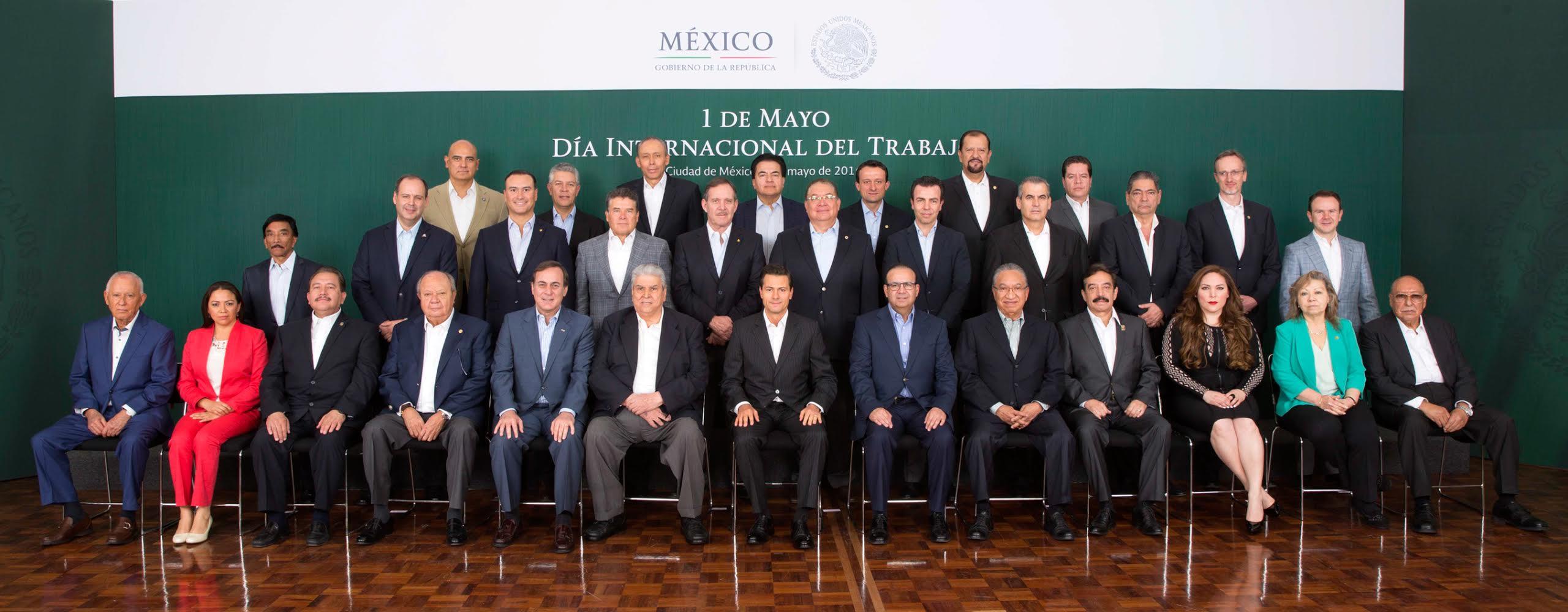México es el país de las Naciones Unidas y de la OIT que registra el mayor periodo sin una huelga laboral federal.