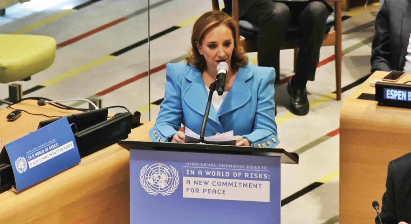 Debate Temático de Alto Nivel sobre Paz y Seguridad de la ONU.