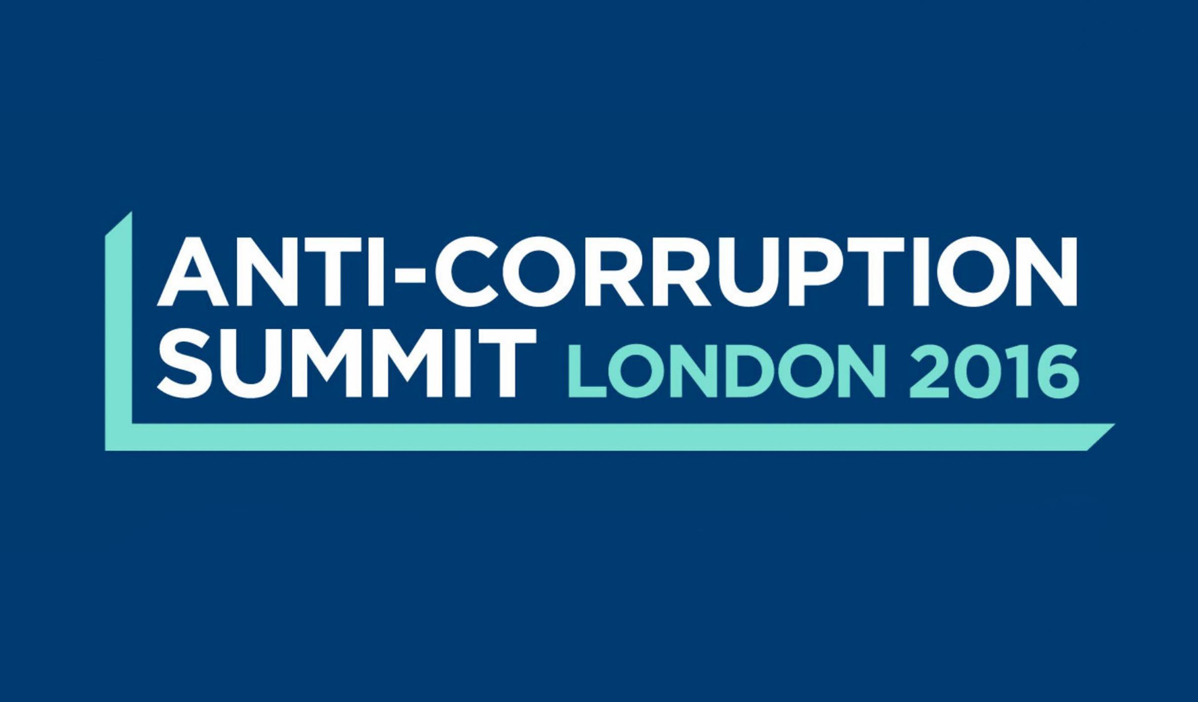 Anti-Corruption Summit London 2016.