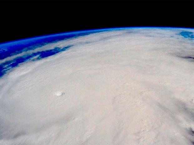 Fotografía de la NASA del Huracán Patricia