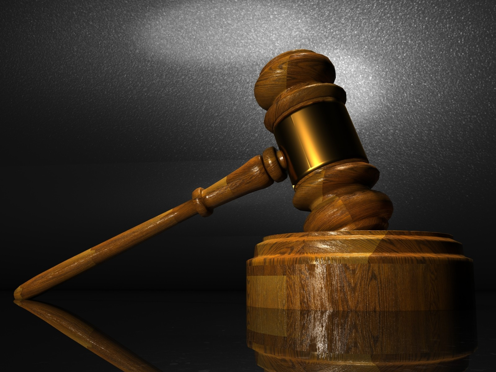 Imagen de martillo del juez.