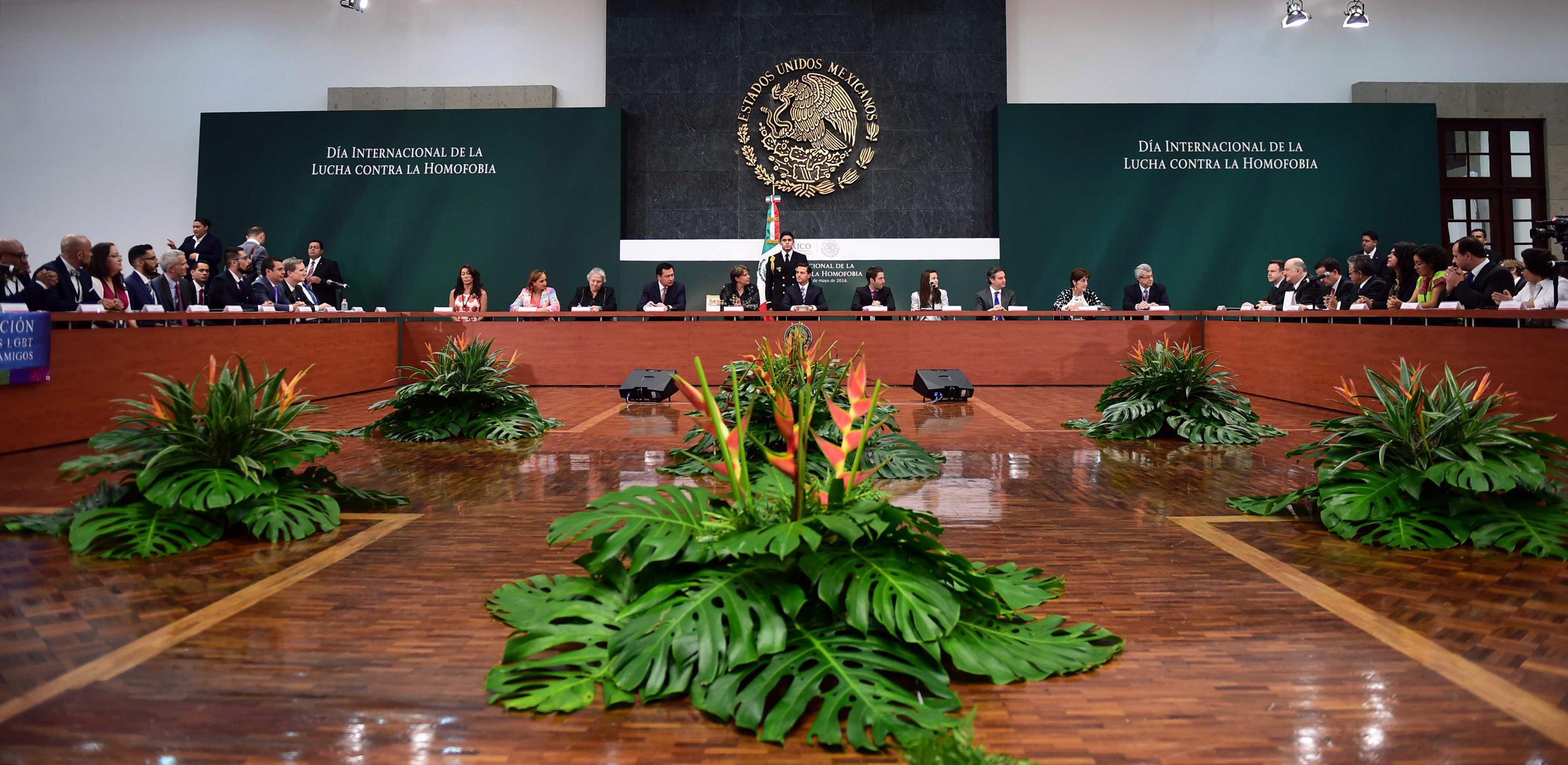 El Primer Mandatario definió cuatro determinaciones a favor de un México incluyente,  en el que todas las personas ejerzan sus derechos a plenitud.