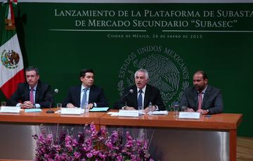 """Lanzamiento de la Plataforma de Subastas de Mercado Secundario """"Subasec""""."""