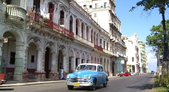 Calles de La Habana, Cuba.