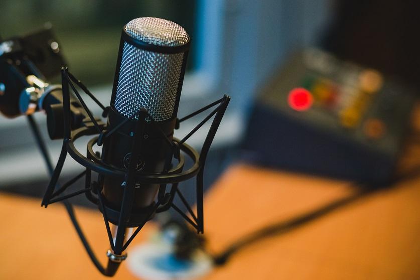 Imagen de un micrófono