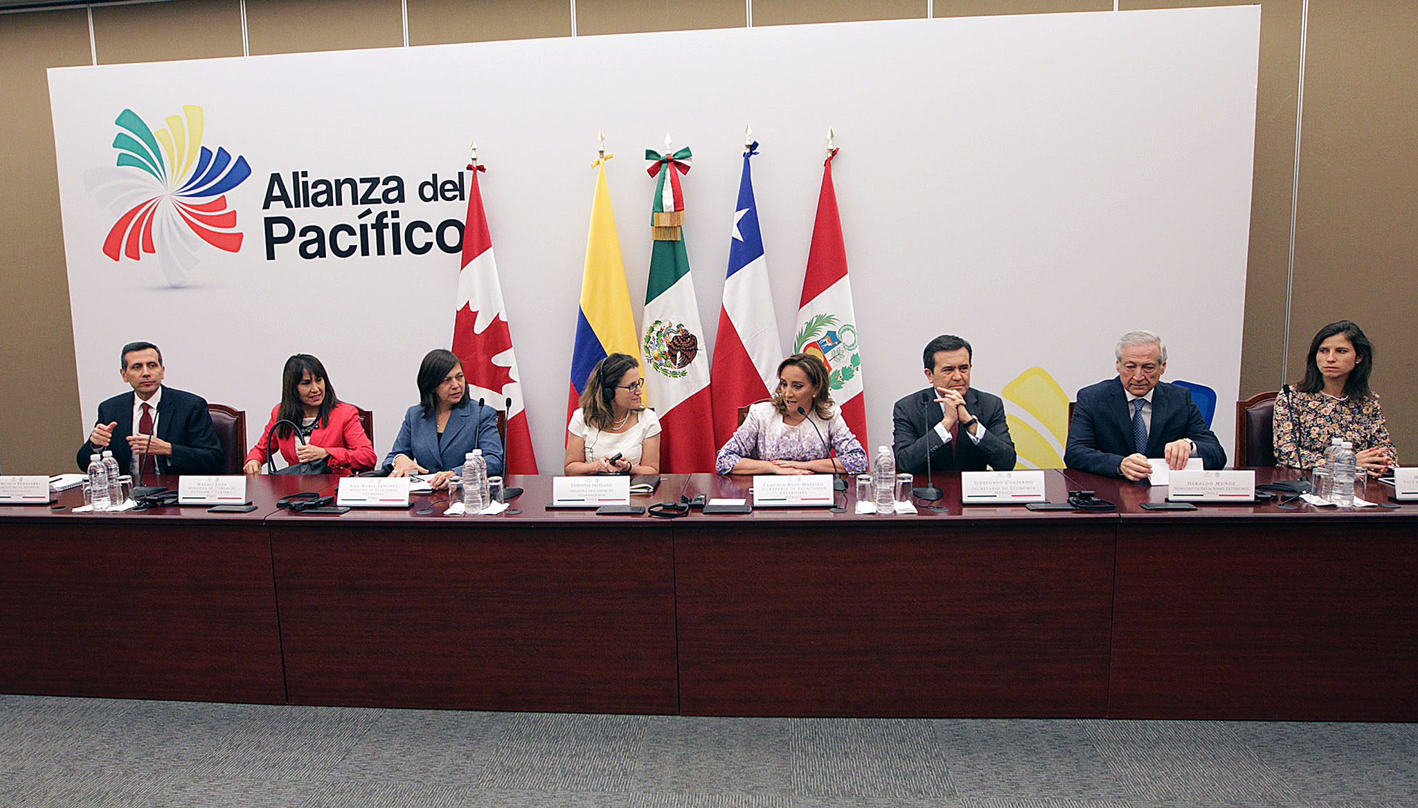 Mexico hosts the 15th ministerial meeting of the Pacific Alliance