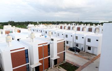 Unidad habitacional dentro de una ciudad sustentable e incluyente.