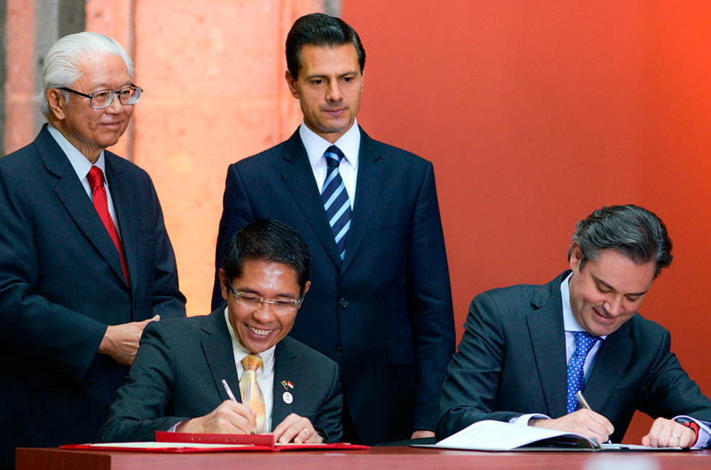 Este memorándum representa un paso más para que México consolide sus lazos de cooperación con uno de los países más competitivos del mundo