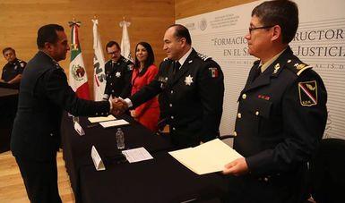 Concluye Diplomado de Formación para Instructores Militares en el Sistema de Justicia Penal