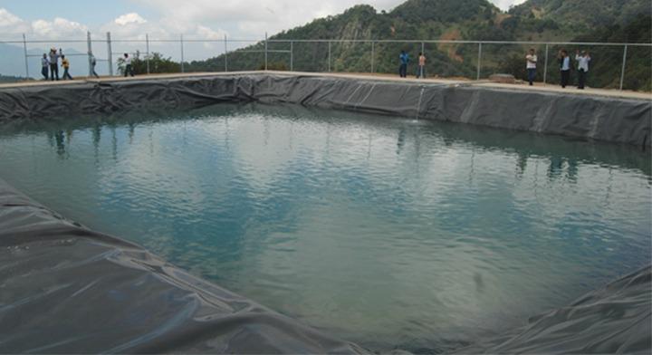 olla de captación de agua