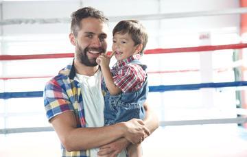 Porque No todos los hombres son iguales, ¡felicidades papás!