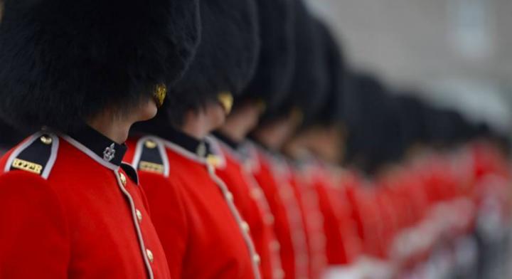 Guardia canadiense.