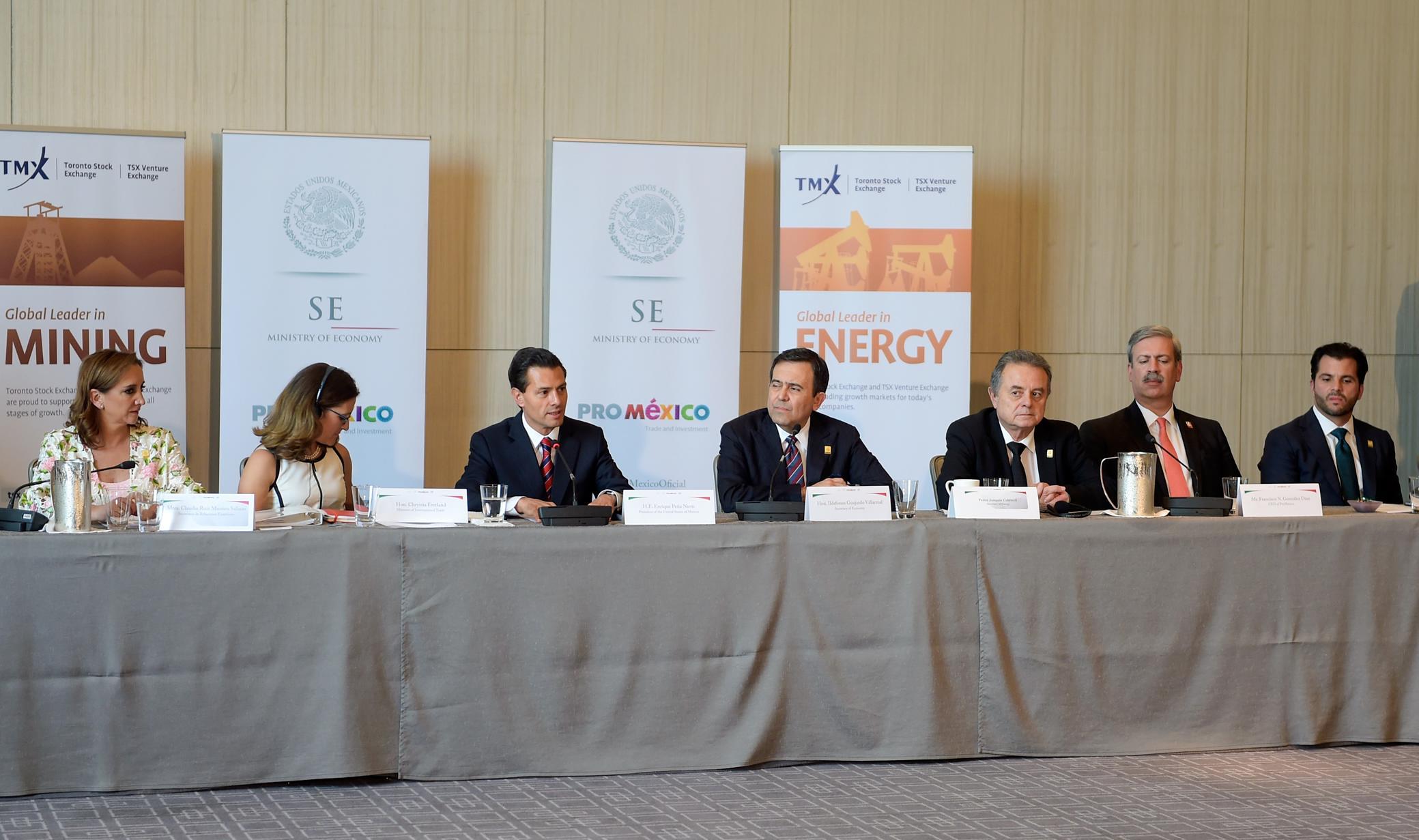 Mesa Redonda: Perspectivas Económicas y Oportunidades de Comercio e Inversión México-Canadá.